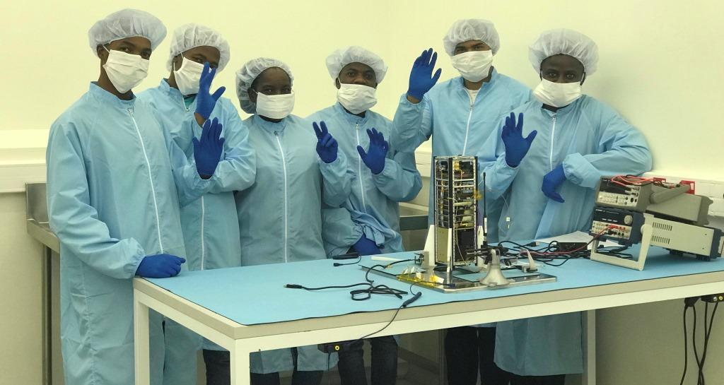 South Africa and France announce the launch of the nano-satellite
