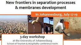Workshop: New frontiers in separation processes & membranes (...)