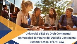 Call for applications: Summer School of Civil Law