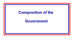 Composition of the French government