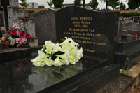 Gerard Sekoto's grave in Paris - JPEG