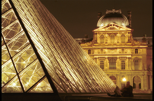 Images de France : Le Louvre - JPEG