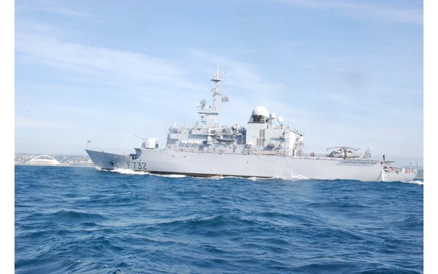 French frigate Nivôse made port call in Durban on 12-15 march 2014