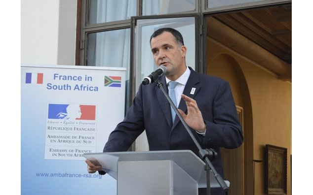 Ambassador of France to South Africa, H.E. Christophe Farnaud.